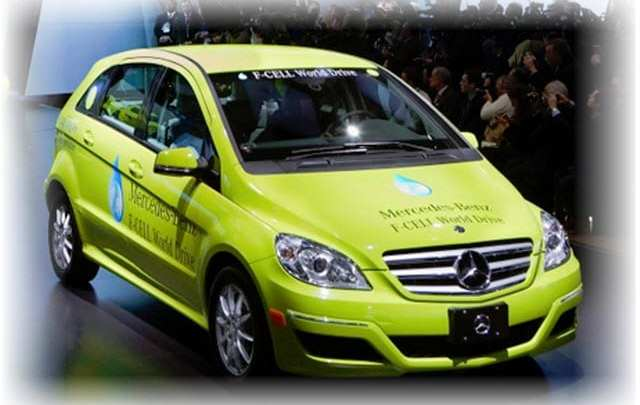 The end of the tour is just the beginning for the eye catching Mercedes F-Cell B-Class