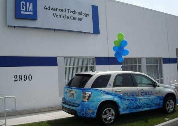 GM Hydrogen Fuel Cell - GM Technology Center California