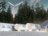 green hydrogen solar storage
