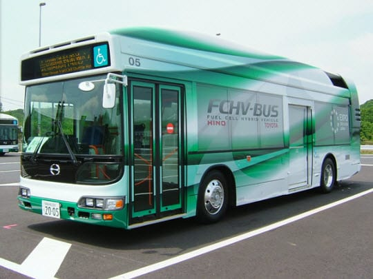 Connecticut debuts new hydrogen powered bus