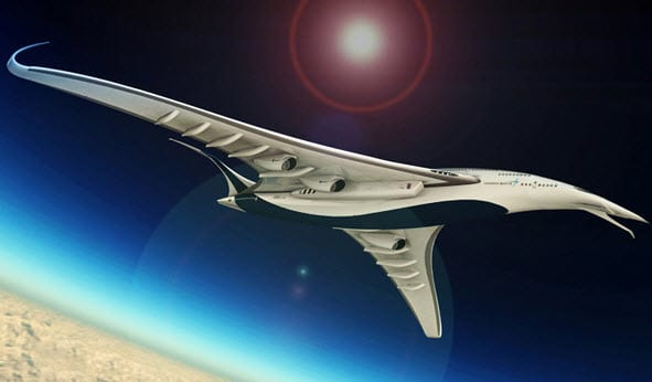 New Lockheed jet can travel around the world on one tank of fuel