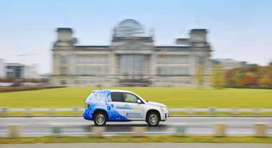 Hydrogen vehicles tested in France surpass expectations of government officials
