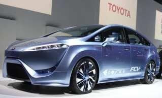 Toyota Hydrogen Fuel Car