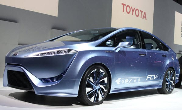 Toyota embraces hydrogen as one of its primary fuels, plans to release hydrogen-powered vehicles in 2015