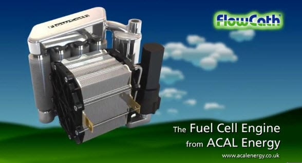 ACAL Energy shows off new fuel cell stack design for platinum-free fuel cells