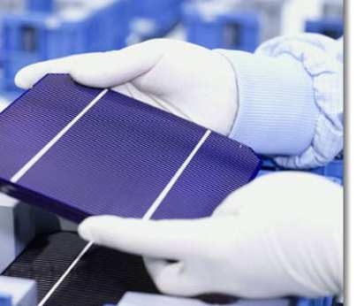 Solar energy - solar cell research
