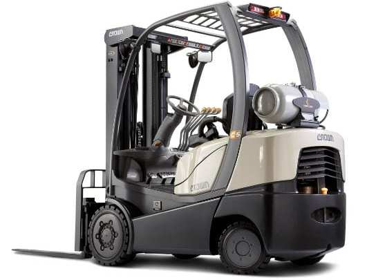 Crown Equipment shows off hydrogen fuel cell vehicles