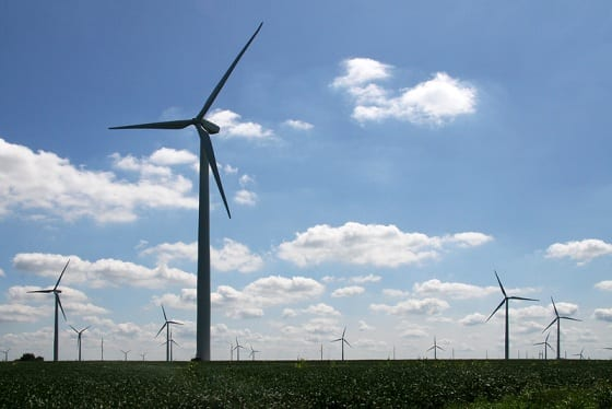 General Electric developing new wind turbines blades made out of fabric