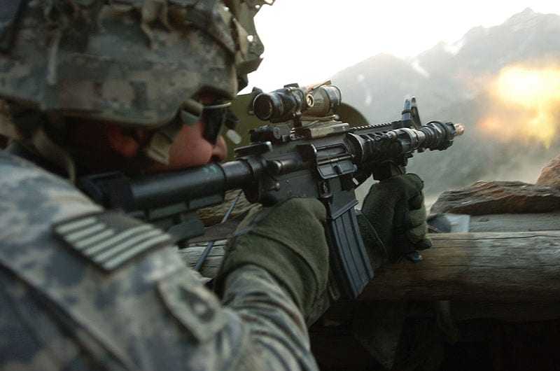 Solar energy championed by US military