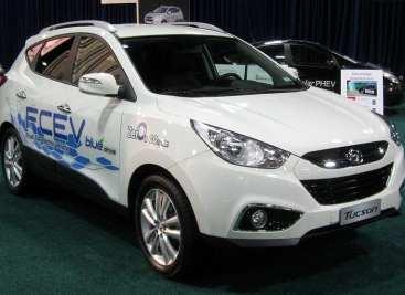 Hyundai - Hydrogen Fuel Cell Vehicle