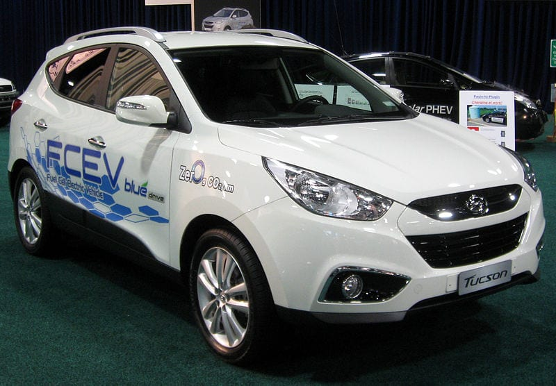 Hyundai delivers hydrogen fuel vehicles to the UK