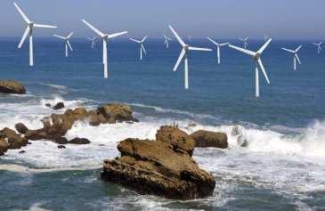 Offshore wind energy capacity