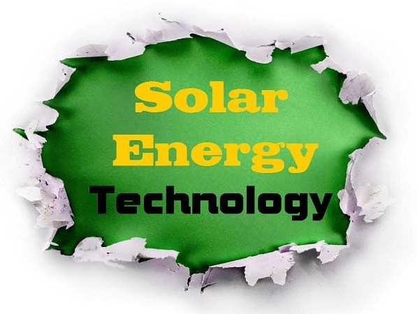 Solar Energy research technology