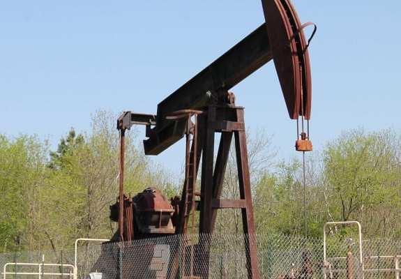 Fracking - Oil Well