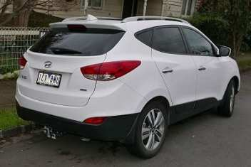 Hyundai ix25 - Hydrogen Fuel Vehicle
