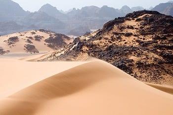Solar Power - Image of Sahara Desert