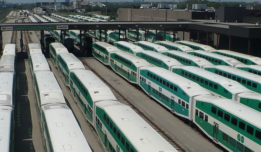 Ontario to test the viability of hydrogen fuel cells for electric trains