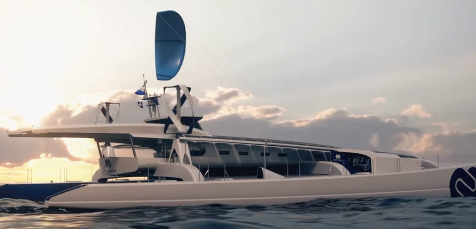 One of a kind hydrogen-powered ship sets sail on six year sea voyage
