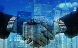 fuel cell company - handshake - deal - partnership