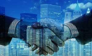 hydrogen fuel cell power partnership - Handshake