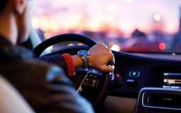 Hydrogen Powered Cars - Man Driving