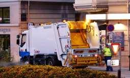 Fuel cell garbage truck - gabrage truck, garbage disposal