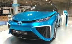 Hydrogen Fuel Transportation - Toyota Mirai