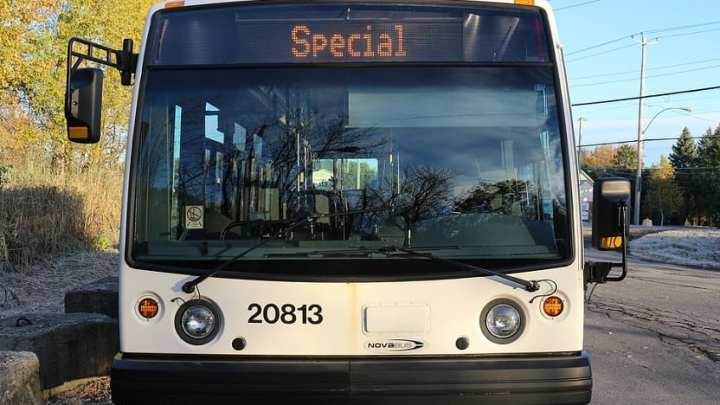 Ohio public transit brings a zero-emission hydrogen fuel bus to D.C. streets