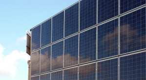 Solar-powered hydrogen production - solar photovoltaic panels