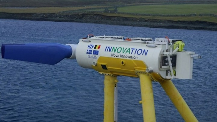 A major European tidal energy project is using AI tech to improve performance