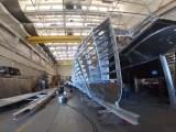 San Francisco hydrogen fuel ferry - Water-Go-Round under construction - KPIX 5 Video