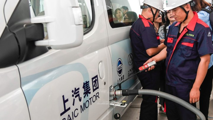 New Shanghai hydrogen refueling station is the largest and most advanced in the world