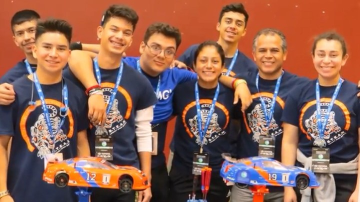 Californian high school students win championship for hydrogen prototype vehicle