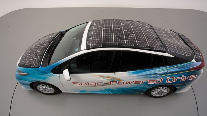 Toyota's solar-powered EV to begin public road trials later this month