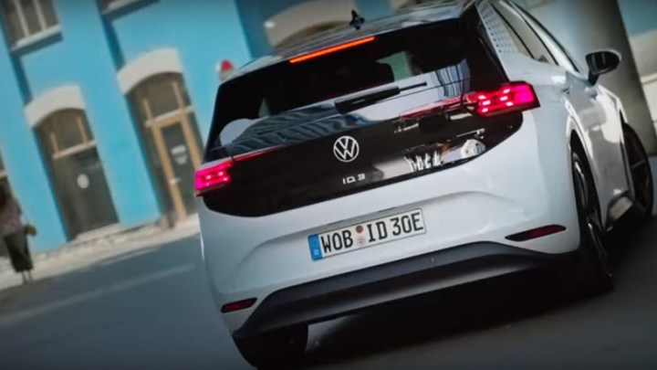 Volkswagen ID.3 electric car is the first model to be unveiled from its new EV ID brand
