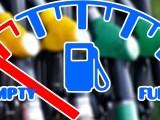 hydrogen car drivers - empty fuel pump