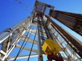 England Fracking - Drilling rig