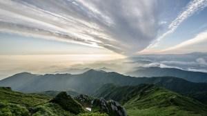 Fukushima renewable energy - mountain in Fukushima Prefecture