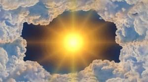 Heliogen technology - sun, clouds