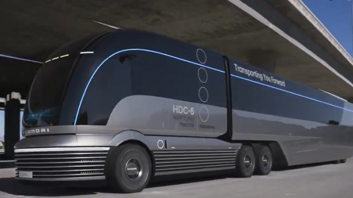 South Korean automaker makes headlines with its Hyundai HDC-6 Neptune truck