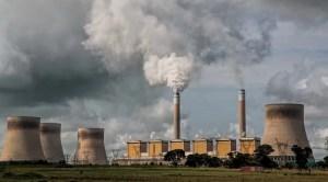 UN Climate Change Report - Coal Power Station
