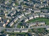 geothermal heating - neighborhood of homes