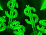 Renewable Energy Prices - Green dollar signs