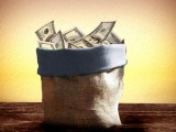 California Energy Commission gives funding - bag of money