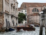 Hybrid water taxi - Taxi in Venice, Italy
