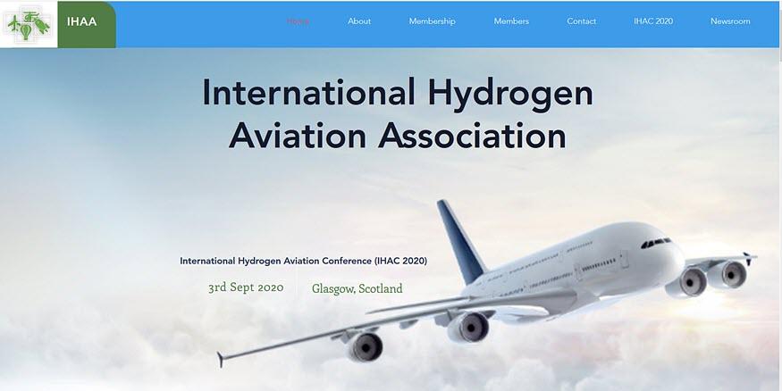 International Hydrogen Aviation Association (IHAA) Launches Website