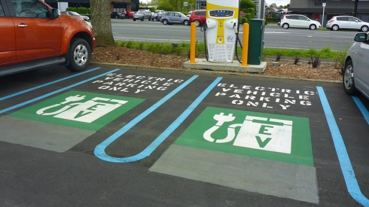 Number of electric car chargers rose by 60 percent last year