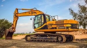 Fuel cell excavator - JCB excavator machine