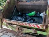 Hydrogen fuel garbage truck - garbage truck