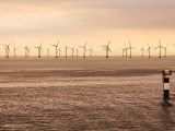 International offshore wind - wind turbines in ocean